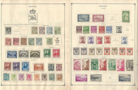 Monaco Collection 1885-1940 on 4 Scott International Pages