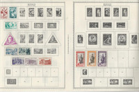 Monaco Collection 1885-1968 on 13 Minkus & Stock Pages