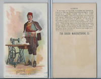 H639 Singer Sewing, Costumes of all Nations, 1892, Bosnia, Austria-Hungary (M)