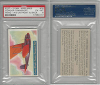 F277-2, H.J. Heinz, Famous Airplane Pictures, 1935, #18 Condor, PSA 6 EXMT