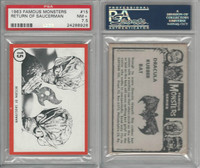 1963 Rosan W528-5, Famous Monsters, #15 Return of Saucerman, PSA 7.5 NM+