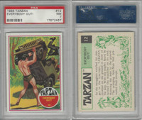 1966 Philadelphia Gum, Tarzan, #12 Everybody Out!, PSA 7 NM