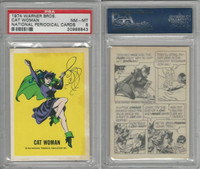 1974 Warner Bros., National Periodical Cards, Cat Woman, PSA 8 NMMT