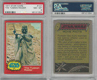 1977 Topps, Star Wars, 2nd Series, #107 The Tusken Raider, PSA 8 NMMT