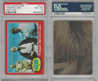 1977 Topps, Star Wars, 2nd Series, #119 Threepio, Ben, PSA 8 NMMT