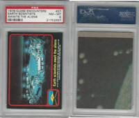 1978 Topps, Close Encounters, #37 Earth's Scientists, PSA 8 NMMT