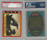 1979 Topps, Alien, #39 The Derelict Spaceship, PSA 8 NMMT