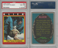 1979 Topps, Alien, #57 The Face Grabber, PSA 8 NMMT