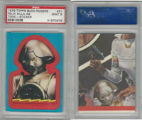 1979 Topps, Buck Rogers Stickers, #21 Felix Silla as Twiki, PSA 9 MInt