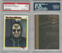 1979 Topps, Star Trek, #25 The Face of Terror, PSA 9 Mint
