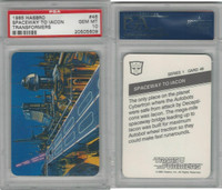 1985 Hasbro, Transformers, #46 Spaceway To Iacon, PSA 10 Gem
