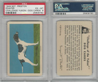 F279-5 Quaker, Challenge Yukon, Dog Cards, 1950, Pointer, PSA 6 EXMT