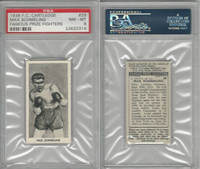 C0-0 Cartledge, Famous Prize Fighters, 1938, #29 Max Schmeling HOF, PSA 8 NMMT