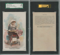 H639 Singer Sewing, Costumes of all Nations, 1892, Neapolitan Italy, SGC 30