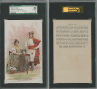 H639 Singer Sewing, Costumes of all Nations, 1892, Spain Valencia (B), SGC 50