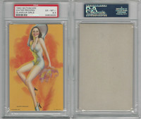 W424-2d Mutoscope, Glorified Glamour Girls, 1940, Water Proofed, PSA 6.5 EXMT