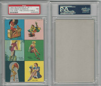 W424-2f Mutoscope, Yankee Doodle Girls, 1942, Six Images (Live Wire), PSA 7 NM
