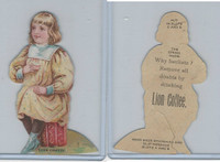 K33 Lion Coffee, Die Cut Design, Doll House, 1890, Dining Room, #7 Girl (B)