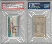 E3 American Caramel, Navy Caramel, 1920's, BB Louisiana, PSA 2 Good