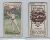 M122-19 Mitchell Cigarettes, Sports, 1907, Tennis