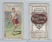 M122-19 Mitchell Cigarettes, Sports, 1907, Throwing The Hammer