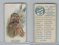 E46 Philadelphia Caramel, Indian Pictures, 1911, Lean Wolf, Gros Ventres (B)