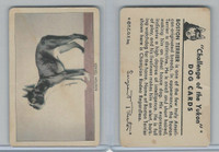 F279-5 Quaker, Challenge of the Yukon, Dog Cards, 1950, Boston Terrier