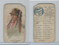 E46 Philadelphia Caramel, Indian Pictures, 1911, Bull Head, Pawnee