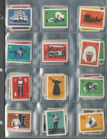 UO Misc, Associated Oil, Stamps Of The West, 1938, Series 1, 100 Stamps