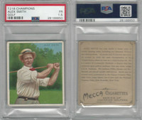 T218 Mecca/Hassan, Champions, 1910, Alex Smith, Golf, PSA 1.5