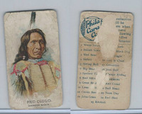 E46 Philadelphia Caramel, Indian Pictures, 1911, Red Cloud, Sioux