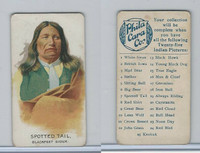 E46 Philadelphia Caramel, Indian Pictures, 1911, Spotted Tail, Blackfeet Sioux