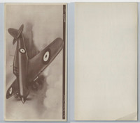 V402-1 WWG, Aviation Chewing Gum Premium, 1940's, #6 Hawker Hurricane
