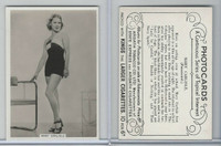 A72-54 Ardath Tobacco, Photocards, 1938, Mary Carlisle, Actress