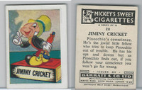 B0-0a Barratt, Walt Disney Characters, 1955, #20 Jiminy Cricket