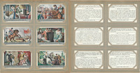Liebig, Set 6 Cards, F1357, 1937, Reign of Albert & Isabel, King, Queen Austria