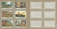 Liebig, Set 6 Cards, F1423, 1939, Life Early Lakeside Village, Hunting, Fishing