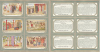 Liebig, Set 6 Cards, F1427, 1941, Exotic Wedding Customs, Indian, China, Japan