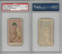 E47 American Caramel, Jockey, 1920's, Sir J. Astley - English, PSA 1