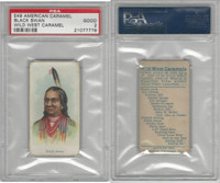 E49 American Caramel, Wild West, 1920's, Black Swan, PSA 2 Good