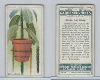 C15 Imperial Tobacco, Gardening Hints, 1923, #19 Stem-Layering
