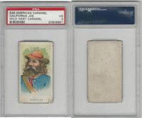 E49 American Caramel, Wild West, 1920's, California Joe, PSA 3 VG