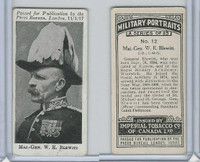 C21 Imperial Tobacco, Military Portraits, 1917, #12 Maj. Gen WE Blewitt