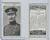 C21 Imperial Tobacco, Military Portraits, 1917, #25 Sir RS Baden-Powell