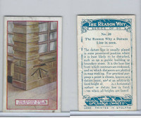 C32 Imperial Tobacco, The Reason Why, 1924, #20 Datum Line Seen
