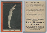 T221 Pan Handle Scrap, Champion Women Swimmers, 1910, #26 Odiva (B)