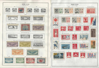 United States Stamp Collection 1918-1991 on 9 Harris Pages, Airmail