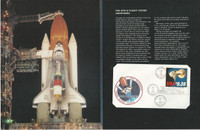 United States Stamp Collection, #1909 STS-8 Space Flight Cover NASA, 1983