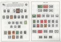 United States Stamp Collection 1847 to 1982 on 50 Harris Pages, Loaded Lot