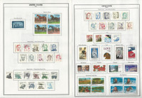 United States Stamp Collection 1983-2008 & BOB on 70 Harris Pages, Loaded